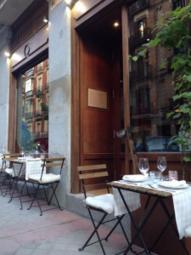 Terraza, restaurante Illumbe, verano, Madrid, salir por Madrid, aire libre, vacaciones, maridaje, maridaje gourmet, maridaje gourmet y más, Taberna Condumios, barrio del Retiro