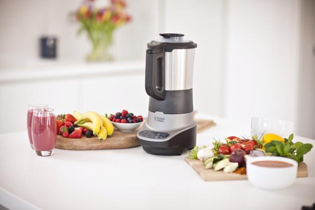 SOUP & BLEND, batidora de vaso, Russell Hobbs, estilo de vida saludable, comer bien, mezcla y bate los ingredientes, cremas, sopas, batidos, cocinar, utensilio de cocina, maridaje gourmet, maridaje, maridaje gourmet y más