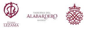 Logotipo Taberna del Alabardero, Madrid, restaurante, salir por Madrid, Comer en madrid, Don Luis Lezama, libro La cocina del Alabardero 50 años, 50 recetas, menu especial, Grupo Lezama, maridaje, maridaje gourmet, maridaje gourmet y más