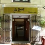 entrada restaurante Ars Vivendi, Madrdi, restaurante, gastronomía italiana, italiano, italia, cocina de autor, pasta, maridaje gourmet y mas, maridaje gourmet, maridaje