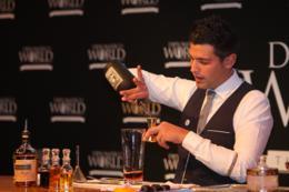 ganador diplomático world tournament, final nacional, concurso bartenders, ron Diplomático, Venezuela, Sociedad de Bartenders, Javier García Vicuña, platea Madrid, cocktail Mr. Pat, cocktail