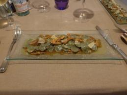 plato restaurante Ars Vivendi, Madrdi, restaurante, gastronomía italiana, italiano, italia, cocina de autor, pasta, maridaje gourmet y mas, maridaje gourmet, maridaje