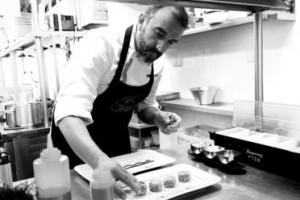 chef Iñaki Rodaballo, tapa que percibes, tapa, trampantojo, restaurante Punk Bach, madrid, restaurante, ganador X concurso naciona de pinchos y tapas de valladolid, Martin Berasategui, Alava