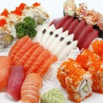 Plato de Sushi, Sushi, maki, restaurante japones Tsunami, Madrid, take away, Tsunami Delivery, cocina japonesa, sake, sashimi, maridaje gourmet y mas, maridaje gourmet, maridaje, gourmet
