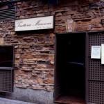 puerta Trattoria Manzoni, restaurante italiano Madrid, trattoria, pizza, cocina tradicional italiana, Don Lisander, maridaje gourmet y mas, maridaje