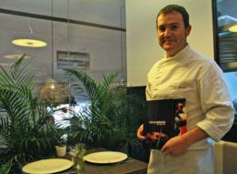 retrato Cesar Anca, Taberna de Cesar Anca, restaurante, Madrid, maridaje gourmet y mas, maridaje gourmet, maridaje, potaje, plato del dia