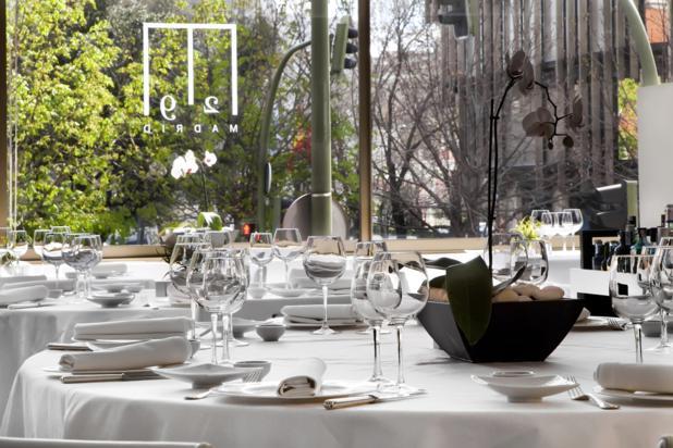 Restaurante M29 Madrid, experiencia gastronómica, salir por Madrid, comer, maridaje gourmet y mas, maridaje, maridaje gourmet, experiencia gastronómica, Risotto maridado con Cerveza Inedit, cerveza, menu, carpaccio, vinagreta, rissotto