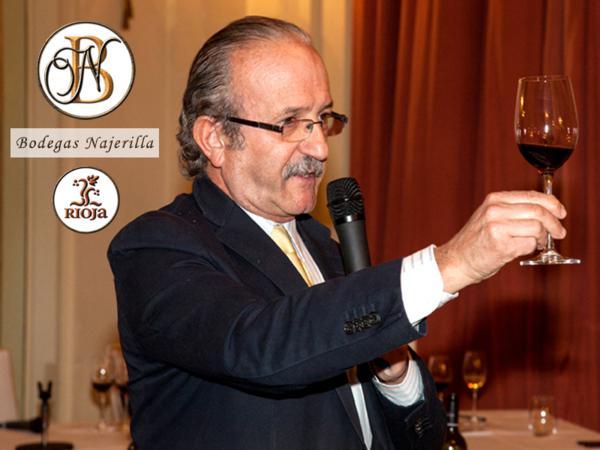 """bebidas, vinos-catas, vino, cata, cata a ciegas, bodegas Najerilla, cooperativa vinícola más importante de Rioja Alta, Casino de madrid, cata privada para sus socios, el proyecto """"Pura Cepa"""", realizado con lo mejor de la bodega, los vinos """"Pura Cepa de Sarmientos"""" reserva 2005 y reserva 2007"""", 85% Tempranillo,15% Garnacha, vinos procedentes de cepas centenarias, Jesús Flores Téllez, Manuel de los Ríos Cañete, maridajes, maridaje gourmet, maridaje gourmet y más, sumiller, catador, monovarietales, """"Valdiestro"""" blanco 2008, fermentado en Barrica (100% viura), """"Castezo"""" crianza 2009 (100% Garnacha) premiado con un Zarcillo de plata en 2013"""