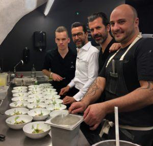 Quique Dacosta cocina a 4 manos con Andreas Caminada en Suiza